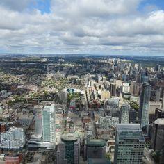 Toronto fron CN tower