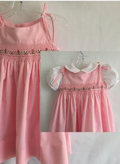b24c4612297 Flores en vestido rosa Tie-mo tamaño 18 Vestidos Fruncidos