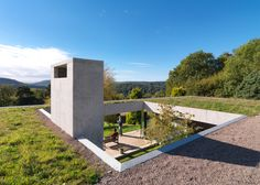 Loyn & Co's earth shelter is nestled against a Gloucestershire hillside