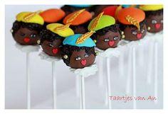 Cakepops Zwarte piet - Sinterklaas