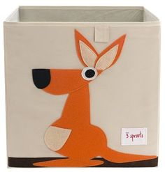 3 Sprouts Storage Box - Kangaroo - Best Price  #DiaperscomNursery