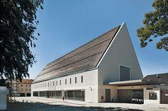 Kultur + Kongress Forum in Altötting von Florian Nagler Architekten