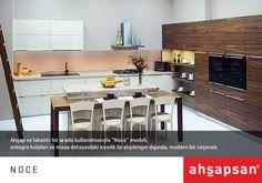 NOCE  #AHŞAPSAN #Mutfak #MutfakTasarımı #Mobilya #MutfakMobilyaları #KitchenDesign #Kitchen