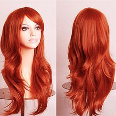 Cheap wig clip, Buy Quality wig orange directly from China wig wire Suppliers: Hatsune miku wig Brown Long Curly synthetic party cos wigs Cosplay Wigs hair pad Perruque peruca femininas Big Wavy Hair, Brown Curly Hair, Full Hair, Hatsune Miku, Party Hairstyles, Curled Hairstyles, Dark Black, Dark Brown, Cosplay Hair