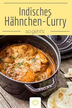 Kurkuma sorgt in diesem indischen Curry nicht nur für ein sagenhaftes Aroma…