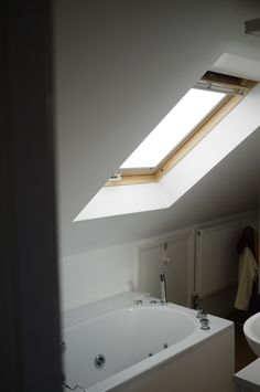Bathroom Velux Window by Jackson Lofts Brighton Sussex, Lofts, Jackson, Windows, Bathroom, Loft Room, Washroom, Loft, Full Bath