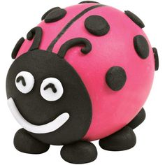 Lady Bug Easter Egg - Here is one bug that is welcome at every springtime and Easter celebration—because, after all, she is a lady…bug! With Wilton Ready-To-Use Rolled Fondant, it's easy to decorate all your hard-cooked eggs with fun shapes and bright colors.