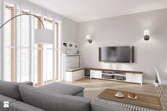 Rodzinne Pastele - Średni salon, styl skandynawski - zdjęcie od EG projekt