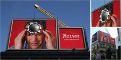 Tylenol billboard
