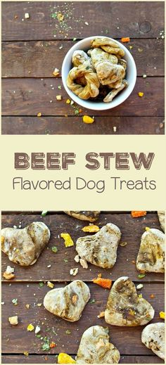 Looking for an easy training treats recipe for dogs? Check out our beef stew flavored dog treats, with just 4 ingredients! It's fast, fun & dogs love it!
