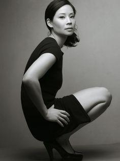 Lucy Liu, Gap campaign by Annie Leibovitz ~