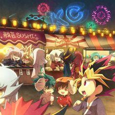 Tags: Yu-Gi-Oh!, Yami Yugi, Yami Bakura, Marik Ishtar, Yami Marik, Yu-Gi-Oh 5Ds, Yu-Gi-Oh! GX, Marufuji Ryo, Johan Andersen, Yusei Fudo, Juu...