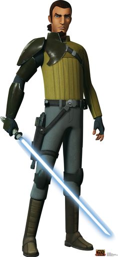 Star Wars Rebels Kanan Jarrus Cardboard Standup