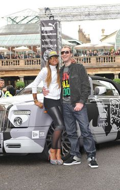 Eve is currently dating British race car driver Maximillion Cooper.