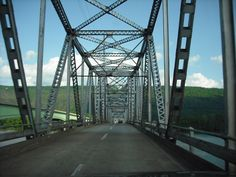 BB Comer Bridge In Northeast Alabama heading up to Sand Mtn. Wanted to pin this. A new bridge is being built and this one will be torn down.