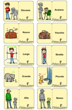 Learning Italian Language ~ Italian adjectives. #italian #linguaitaliana #italianlessons