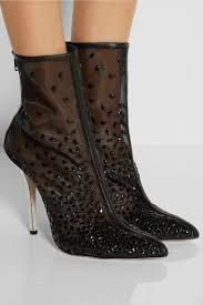 booties ankle heels embellished beaded with crystal - Αναζήτηση Google