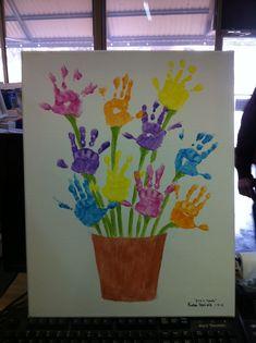 Handprint Flower Pot Art…a fun Mother's Day Gift! Handprint Flower Pot Art…a fun Mother's Day Gift! Daycare Crafts, Easter Crafts For Kids, Crafts To Do, Preschool Crafts, Flower Craft Preschool, Spring Toddler Crafts, Kindergarten Crafts, Spring Craft For Toddlers, Crafts For Children