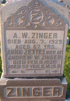 Andrew W Zinger