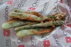 If you haven't tried the Fried Asparagus at Banner Island Ballpark, you're missing out!!