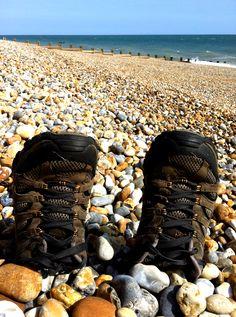 St Leonard's at Sea, England © Jenniflowers East Sussex, Hiking Boots, Saints, England, Sea, The Ocean, Ocean, English, British