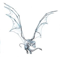 DRAGON WINGSPAN by Jerome-K-Moore