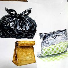 비닐 & 종이 & 은박지