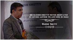 Mr. Harish Shetty makes everyone comfortable with his kind attention. #HarishShetty