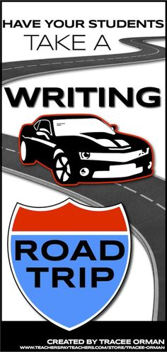 Have your students take a writing road trip... Common Core Informative and Explanatory Writing Unit