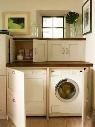 Image result for small laundry room storage and functional
