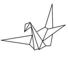 Origami crane | Tattoo inspo