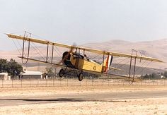 A Curtiss JN-4 in takeoff. One of aviation's earliest icons, a 'Jenny' biplane, is taking to the skies this summer to commemorate the centenary of the Great War.  Image by Bill Larkins / CC BY-SA 2.0