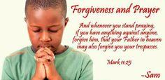 Free Christian Wallpapers: Forgiveness and Prayer Bible Verse