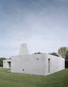 WERNER HOUSE by Berger Röker architects (Germany). Located on the outskirts of Haigerloch.
