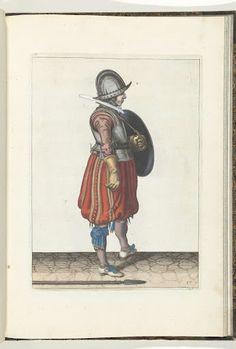 De exercitie met schild en spies no. 17 (1618)
