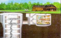 $18m Cold War silo (missiles not included) with underground bunker for sale at just $1.76m