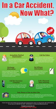 Some useful tips on how to act in case you're involved in a car accident - whether you're a victim or the party at fault.