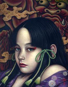 DEVOTION | Shiori Matsumoto スタルジックな少女たちの世界を描く松本潮里の絵画作品集