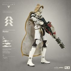 Destiny Hunter Bambaland Store Exclusive Edition! Everything you need to know about Destiny Hunter pre-order on July 21st:  http://www.worldofthreea.com/threea-production-blog/destinyhunter The Hunter comes in three exclusive editions – each edition comes complete with Ghost and are outfitted in shaders, armor, cloaks, and an array of weaponry curated by 3A and the team at Bungie. #threeA #WorldOf3A #WO3A #Bungie #Destiny #DestinyTheGame #DestinyHunter