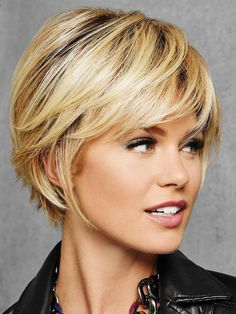 HairDo Wigs – Textured Fringe Bob ( Wig Features: Heat Friendly See Heat Friendly Care Full, side sweeping fringe and chin-length layered sides beautifully blend into textured layers at the nape for a no-fuss, . Choppy Bob Hairstyles, Bob Hairstyles For Fine Hair, Short Bob Haircuts, Short Hairstyles For Women, Cut Hairstyles, Layered Hairstyles, Trending Hairstyles, Teenage Hairstyles, Hairstyle Men