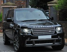 .Can't just be a Range rover ,has to be an Overfinch....love