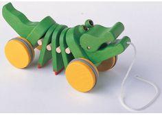 Dancing alligator from Plan Toys