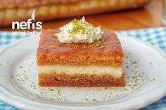 Ekmek Kadayıfı Nasıl Yapılır? (videolu) – Nefis Yemek Tarifleri Cornbread, Vanilla Cake, Tart, Cheesecake, Ethnic Recipes, Desserts, Food, Modern, Millet Bread