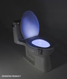 The GlowBowl will transform ANY toilet into a nightlight. No more missing your target or stumbling around in the dark in your bathroom – The GlowBowl is motion activated, light-sensitive and solves al