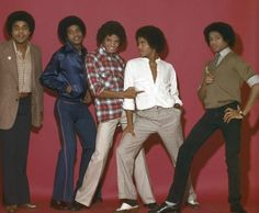 Michael Jackson and his brothers - Jacksons Era