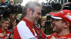 Forza Ferrari, Forza Arrivabene, Forza Vettel!