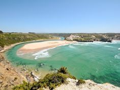 Why we love it: Inside the Vicentine Coast Natural Park, sandy Odeceixe sits at the mouth of the River Seixe and is popular with surfers.