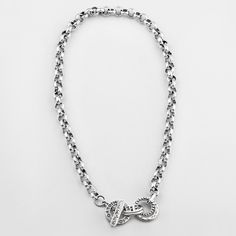 Miglio Designer Jewellery - Detailed Burnished Silver Belcher Chain Necklace, R499.00 (http://shopza.miglio.com/shop-by-product/detailed-burnished-silver-belcher-chain-necklace/)