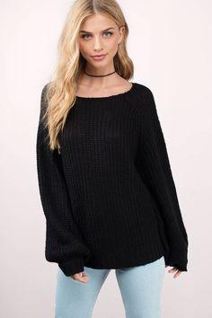 Syd Knit Sweater at Tobi.com #shoptobi