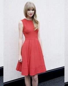 Only $80 for this pretty red dress!